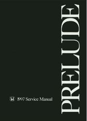 1997 Honda Prelude Factory Service Manual on CD-ROM