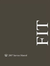 2007 Honda FIT Factory Service Manual on CD-ROM