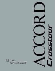 2010 Honda Accord Crosstour Factory Service Manual on CD-ROM