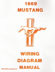 1969 Ford Mustang Factory Wiring Diagrams
