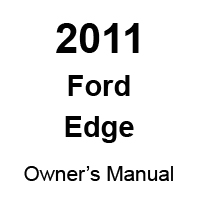 2011 Ford Edge Factory Owner's Manual