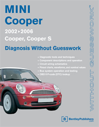2002 - 2006 MINI Cooper Diagnosis Without Guesswork Manual