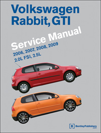 2006-2009 Volkswagen Rabbit, GTI Factory Service Manual