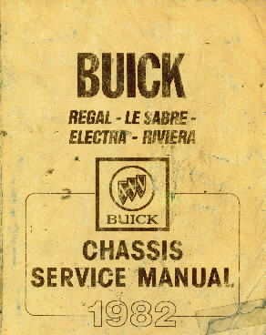 1982 Buick Skyhawk Chassis & Body Servce Manual