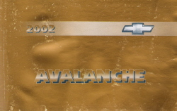 2002 Chevrolet Avalanche Owner's Manual