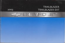 2003 Chevrolet Trailblazer & Trailblazer EXT Owner's Manual
