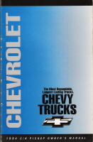 1994 Chevrolet C/K Pickup Owner's Manual