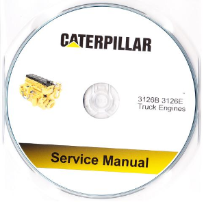 Caterpillar 3126B & 3126E On-Highway Engine Service Manual CD-ROM