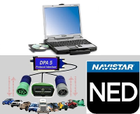 International Navistar Engine Diagnostics Software on Panasonic Toughbook CF-52 & DG Tech DPA-5 Adapter