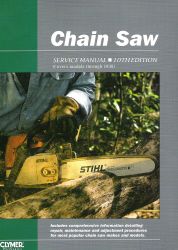Chain Saw Clymer Service Manual