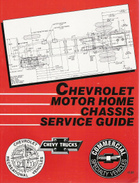 1993 Chevrolet Motor Home Chassis Service Guide With Video