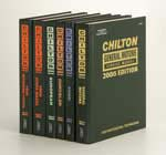 2005 Chilton Mechanical Service Manuals Set- 6 Manuals (2001 - 2004 Year Coverage)