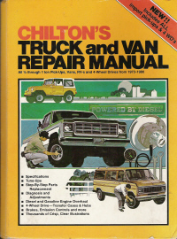 1973 - 1980 Chilton Truck & Van Repair Manual
