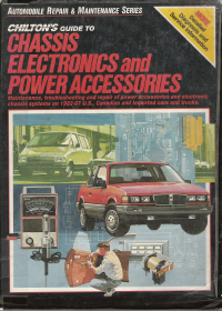 1982 - 1987 Chilton's Guide - Chassis, Electrical, Power Accessories