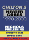 1990 - 2000  Heater Core Service Manual  by Chilton
