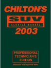 2003 Chilton's SUV Service Manual, Shop Edition (1999 - 2002 Year coverage)