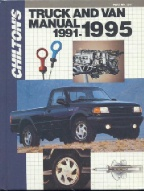 1991 - 1995 Chilton's Truck & Van Repair Manual