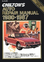 1980 - 1987 Chilton's Auto Repair Manual