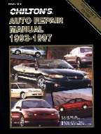 1993 - 1997 Chilton's Auto Repair Manual