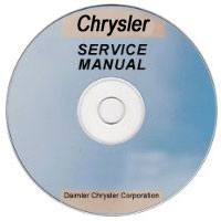 1999 Chrysler Town & Country Service Manual- CD Rom