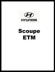 1992 Hyundai Scoupe Factory Electrical Troubleshooting Manual - ETM