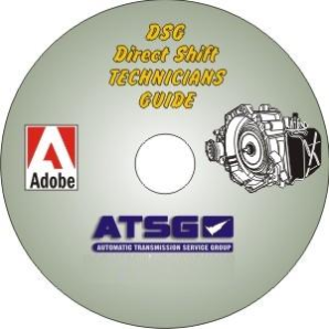 VW DSG 02E Technicians Diagnostic Guide- Mini CD-ROM