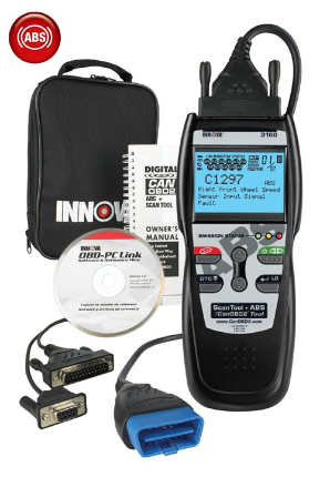 Equus 3160 ABS + CanOBD2 Code Scanner with Enhanced Live Data By Innova