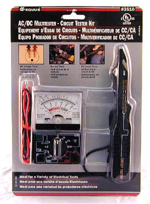 Equus/Innova Multitester-Circuit Tester Kit