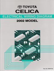 2002 Toyota Celica Electrical Wiring Diagram Manual