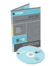 EZ-PC-500 Windows Based PC Interface Software with Serial Cable