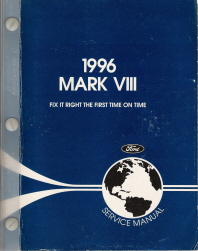 1996 Lincoln Mark VIII Factory Service Manual