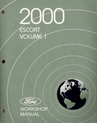 2000 Ford Escort Factory Workshop Manual - 2 Volume Set