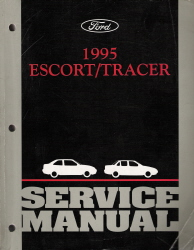 1995 Ford Escort & Mercury Tracer Factory Service Manual