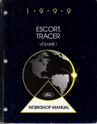 1999 Ford Escort, Mercury Tracer Workshop Manual - 2 Volume Set