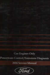 2004 Ford Car/Truck Powertrain Control and Emission Diagnosis Manual Gas Only