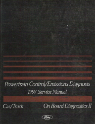 1997 Ford Car/Truck OBD-II Powertrain Control and Emissions Diagnosis Service Manual