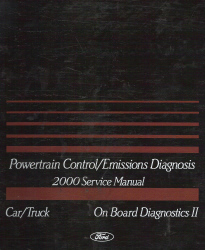 2000 Ford Car/Truck OBD-II Powertrain Control and Emissions Diagnosis Service Manual