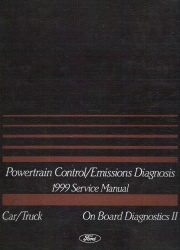 1999 Ford Car and Truck OBD-II Powertrain Control and Emissions Diagnosis Service Manual