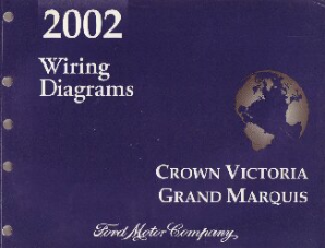 2002 Ford Crown Victoria, Mercury Grand Marquis Wiring Diagrams