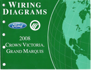 2008 Ford  Crown Victoria & Mercury Grand Marquis - Wiring Diagrams