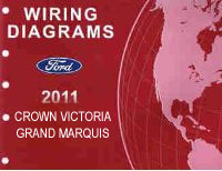 2011 Ford Crown Victoria & Mercury Grand Marquis Factory Wiring Diagrams Manual