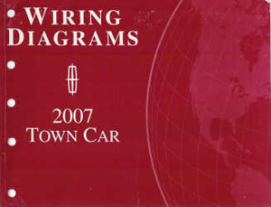2007 LincolnTown Car - Wiring Diagrams