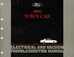 1995 Lincoln Town Car Electrical & Vacuum Troubleshooting Manual