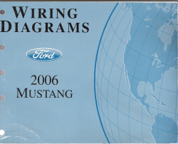 2006 Ford Mustang Factory Wiring Diagrams