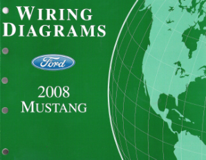 2008 Ford Mustang Factory Wiring Diagrams