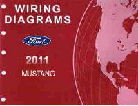 2011 Ford Mustang Factory Wiring Diagrams Manual