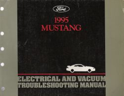 1995 Ford Mustang Electrical and Vacuum Troubleshooting Manual