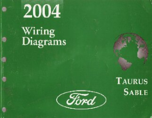 2004 Ford Taurus & Mercury Sable Factory Wiring Diagrams