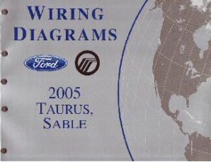 2005 Ford Taurus & Mercury Sable- Wiring Diagrams