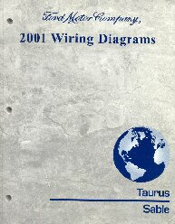 2001 Ford Taurus & Mercury Sable- Wiring Diagrams